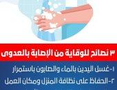 الصحة توضح 3 نصائح للوقاية من الإصابة بالعدوى.. تعرف عليها