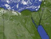 """""""الأرصاد"""" تبرز صورا للقمر الصناعى تتوقع سقوط أمطار بالإسكندرية"""