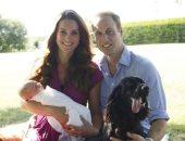 """الأمير وليام وكيت ميدلتون ينعيان كلبهما """"لوبو"""": كان ضمن عائلتنا 9 سنوات"""