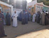 عمليات تنسيقية شباب الأحزاب ترصد توافد مئات الناخبين على لجان بنى مزار بالمنيا