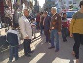 تحرير 170 محضر إشغال وإزالات إدارية فى حملة مكبرة بأبو قرقاص المنيا