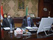 محافظ المنيا يستعرض أمام رئيس الوزراء خطة مواجهة السيول عبر الفيديو كونفرنس
