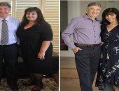 """""""حلم كل الستات"""".. سيدة تفقد 55 كيلو من وزنها فى سنة لحضور زفاف ابنتها"""