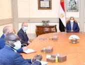 """السيسي يؤكد تطلع مصر للتعاون البناء مع """"أورانج"""" وغيرها من الشركات الفرنسية"""
