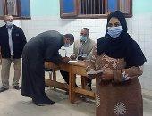 الناخبون بالكمامة ثانى أيام جولة إعادة المرحلة الأولى لانتخابات النواب