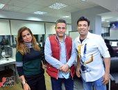 سعد الصغير يكشف لـ تليفزيون اليوم السابع أسرارا جديدة عن حياته ورحلة الصعود