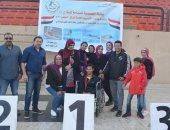 متحد إعاقة يحصل على ميداليتين ذهبيتين فى بطولة الجمهورية للسباحة بجنوب سيناء