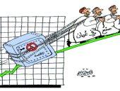 كاريكاتير صحيفة عمانية.. الصناعة سر النهوض الاقتصادى فى سلطنة عمان