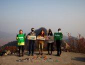 لوحات فنية جميلة ..تحويل القمامة والمخلفات لمشغولات بديعة فى كوريا الجنوبية..ألبوم صور