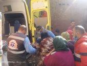 الرئيس السيسى يستجيب لحالة السيدة عزيزة ويوجه بعلاجها من مرض داء الفيل