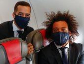 بعثة ريال مدريد تصل ميلان لمواجهة الإنتر.. فيديو