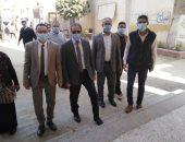 معاون محافظ بنى سويف يتابع أعمال التصويت فى عدد من لجان الاقتراع