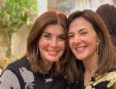 """دنيا سمير غانم تحتفل بعيد ميلاد ميرفت أمين: """"كل سنة وأمى الثانية بخير"""""""