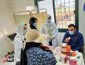 تنظيم قوافل طبية للقرى الأكثر احتياجا فى كفر الشيخ.. صور