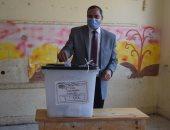 رئيس جامعة سوهاج يدلى بصوته بانتخابات الإعادة بمجلس النواب.. فيديو وصور