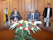 محافظ شمال سيناء يؤكد دور جامعة العريش فى تنمية المحافظة