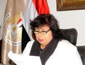 وزيرة الثقافة تبحث مع رئيس وفد الاتحاد الأوروبى بمصر تعزيز التعاون الثقافى والفنى