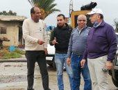 رئيس مصلحة الميكانيكا والكهرباء يتفقد محطات رفع المياه بالبحيرة والإسكندرية