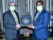 وزير الطيران يبحث مع وزير النقل السودان التعاون المشترك بمجال النقل الجوى
