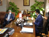 وزير الشباب والرياضة يلتقي الأمين العام للمنظمة الكشفية العربية