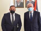 وزير خارجية فلسطين يعتمد أوراق سفير مصر الجديد ويؤكد عمق العلاقات مع القاهرة