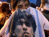 وداعًا الفتى الذهبي.. العالم ينعى أسطورة كرة القدم دييجو مارادونا.. ألبوم صور