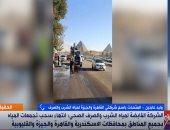 """""""الصرف الصحى"""" بالقاهرة والجيزة لـ""""إكسترا نيوز"""": تمكنا من شفط مياه الأمطار فى 7 ساعات"""