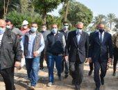 وزير الآثار ومحافظ القليوبية يتفقدان أعمال ترميم قصر محمد على بشبرا الخيمة