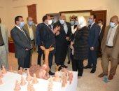 بروتوكول تعاون بين جامعة بنى سويف ومحافظة الوادى الجديد لدعم ذوى الهمم