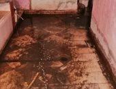 القابضة لمياه الشرب والصرف الصحى تستجيب لشكوى فى عرب الساحل بالحوامدية
