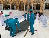 شئون الحرمين تكثف الاستعداد لسقوط الأمطار في المسجد الحرام.. فيديو وصور