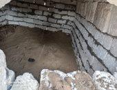إزالة 8 مقابر أقامها مواطن بالمخالفة للإتجار بها في شبرا الخيمة