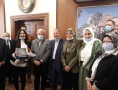 القومى للمرأة يهنىء محافظ بورسعيد لاختياره كأفضل محافظ فى الوطن العربى