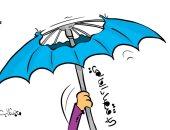 الاقتصادى العالمى ينهار سريعا بسبب كورونا فى كاريكاتير كويتى
