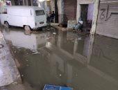 رفع مياه الصرف الصحى من شارع الإصلاح الفلكى بالإسكندرية استجابة لشكوى الأهالى