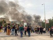 العربية: موظفون يحرقون مقار حزبية فى السليمانية بالعراق