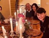 كريسى تيجان وكاثرين زيتا جونز وصوفيا فيرجارا يحتفلن بعيد الشكر.. صور