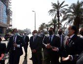 رئيس الوزراء يتفقد أعمال تطوير المعهد القومى للأورام..صور