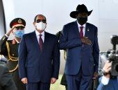 """كلمة الرئيس السيسى فى جنوب السودان: المباحثات مع سلفا كير """"معمقة ومثمرة"""""""