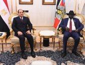 رئيس جنوب السودان: الرئيس السيسي أبدى استعداده لمساعدتنا على كافة الأصعدة