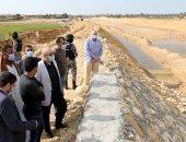 محافظ بنى سويف يشدد على سرعة إعادة تأهيل مخر السيل بسنور شرق النيل
