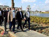 رئيس الوزراء يتفقد أعمال تطوير بحيرة عين الصيرة..صور