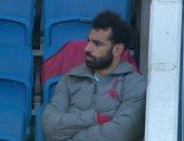 لحظة غضب صلاح بعد استبداله بـ ماني فى مباراة ليفربول وبرايتون.. فيديو