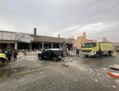 صور.. مقتل وإصابة 7 أشخاص في انفجار غازى بالعاصمة السعودية الرياض