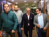 عمرو الجنايني يزور اليوم السابع ويشيد بتجربة التليفزيون الديجيتال