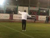 """أجايي يرقص داخل """"التتش"""" والشناوي يرد التحية لجماهير المارد الأحمر.. فيديو وصور"""