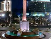 انتهاء أعمال تطوير ميدان التحرير بتكلفة تقديرية 150 مليون جنيه