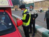محافظ الشرقية : تغريم 48 سائق لعدم الإلتزام بإرتداء الكمامة الواقية