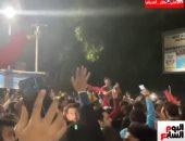 تليفزيون اليوم السابع يرصد فرحة جماهير الأهلى بعد التتويج بالأميرة الأفريقية