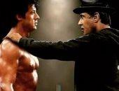 سيلفستر ستالون يدعم تايسون بصور أصعب ملحمة ملاكمة سينمائية مر عليها 35 عامًا.. صور